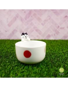 (現貨)【日本DECOLE】貓咪小茶杯/清酒杯