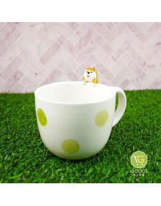 (現貨)【日本DECOLE】杯緣柴犬馬克杯