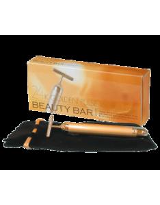 【日本正貨】Beauty Bar 24K黃金T字離子美容棒
