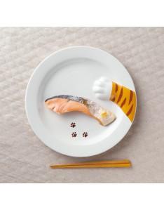 【日本sunart】虎貓偷食餐盤