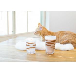 (現貨)日本製超萌小虎貓貓掌杯